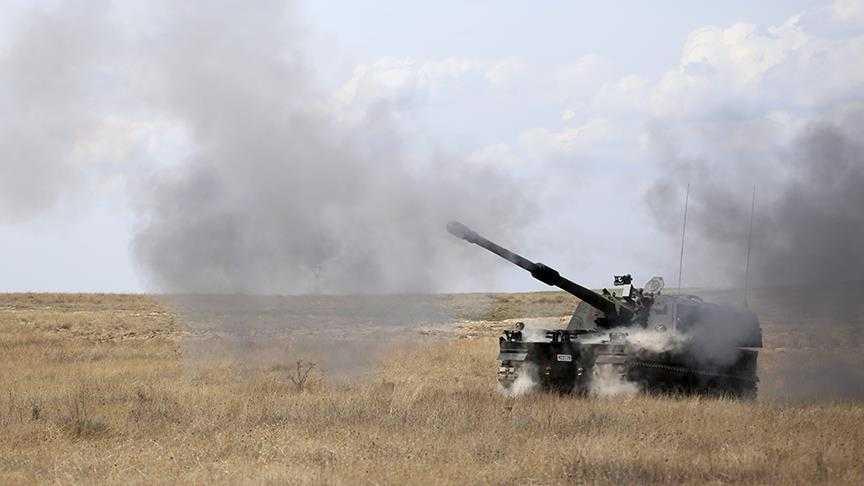 """عاجل: الجيش التركي يستهدف مواقع لـ """"YPG"""" في """"تل رفعت"""""""