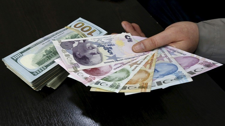 النشرة الصباحية لسعر الليرة التركية اليوم الأربعاء 14.03.2018