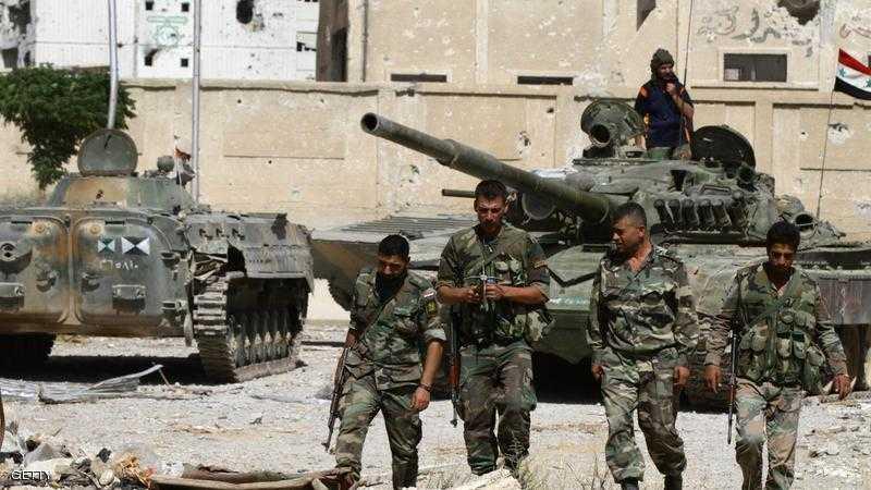 شاهد اختراع جيش بشار الأسد الجديد لمواجهة من وصفهم بالارهابيين !!
