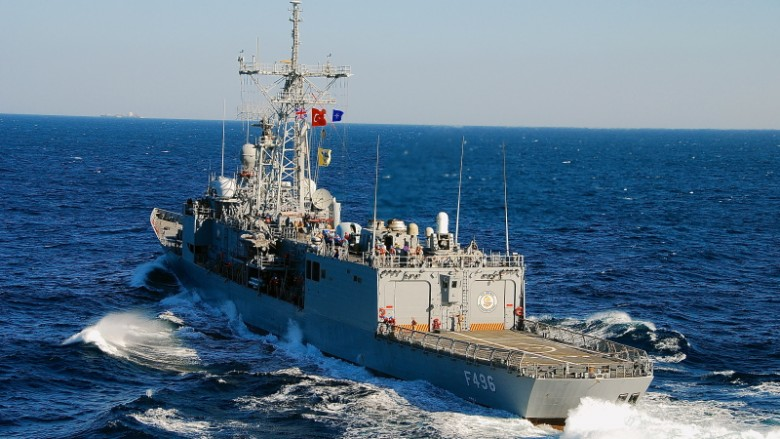 وصول فرقاطة عسكرية تركية إلى السواحل القطرية