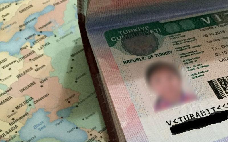 """الدخول إلى تركيا عبر """"الفيزا"""" للسوريين المقيمين في الداخل السوري"""