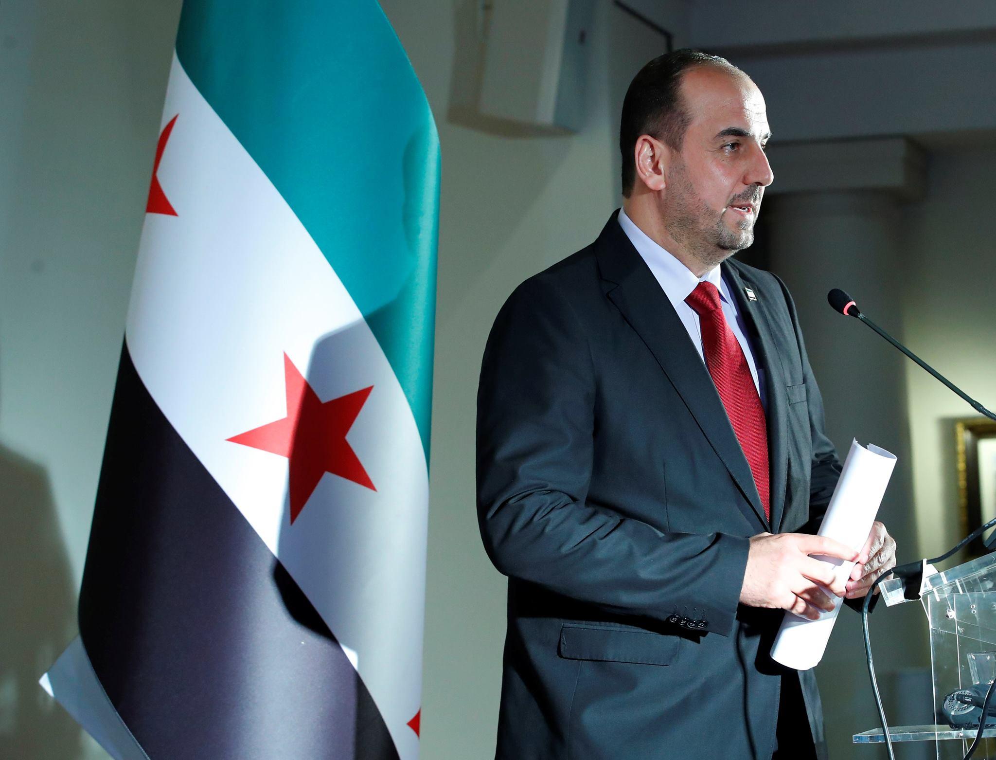نصر الحريري ينفي وجود مبادرات تطبيع مع نظام الأسد