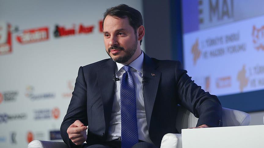 وزير المالية التركي يلتقي مديري شركات عالمية في دافوس