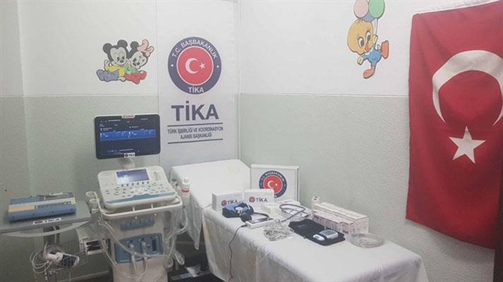 تيكا التركية تقدم معدات طبية إلى مستشفى للأطفال في أنغولا