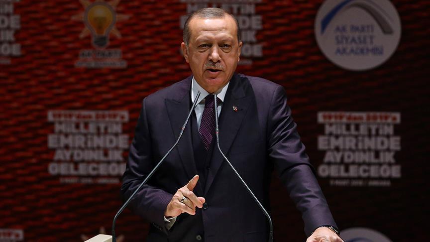 أردوغان: عفرين باتت محاصرة ودخولها وارد بأي لحظة
