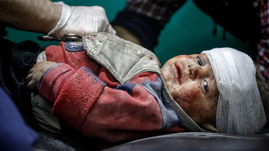 اليونيسيف تكشف عن عدد الأطفال الذين قتلوا في سوريا خلال العام 2017