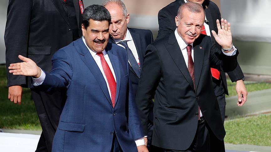 """""""العدالة والتنمية"""" التركي: لا يمكن لأي دولة تعيين رئيس لفنزويلا"""