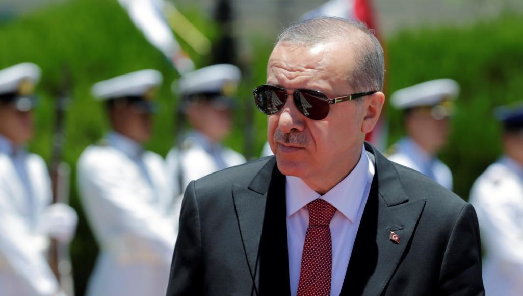 أردوغان يعلن الحرب