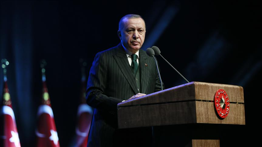 """في الذكرى الأولى لـ""""غصن الزيتون"""".. أردوغان يعلق على تفـ.ـجير عفرين"""