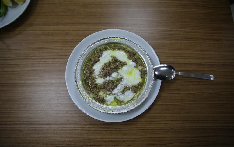 """الـ""""تيريت"""".. فطور """"دافئ"""" في شتاء أورفة التركية"""