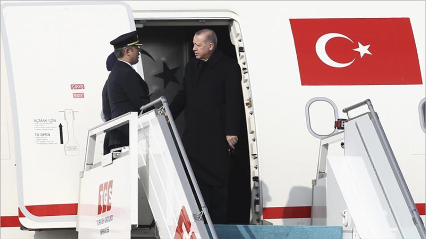 أردوغان يتوجه إلى روسيا