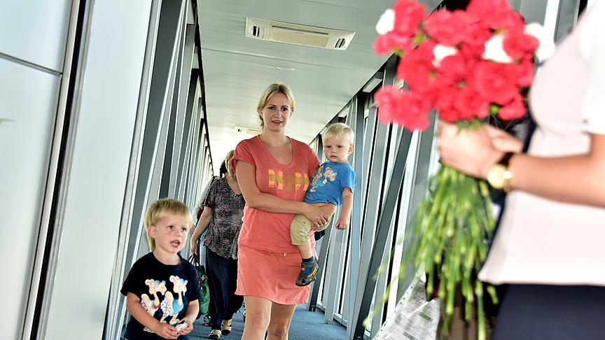 الروس يتصدرون الأجانب الأكثر زيارة لتركيا