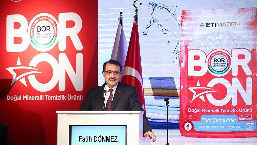"""تركيا تصنّع منظفات صديقة للبيئة من """"البورون"""""""