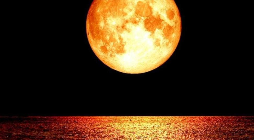 ظاهرة فريدة.. قمر الذئب الدموي العملاق سيظهر خلال ساعات