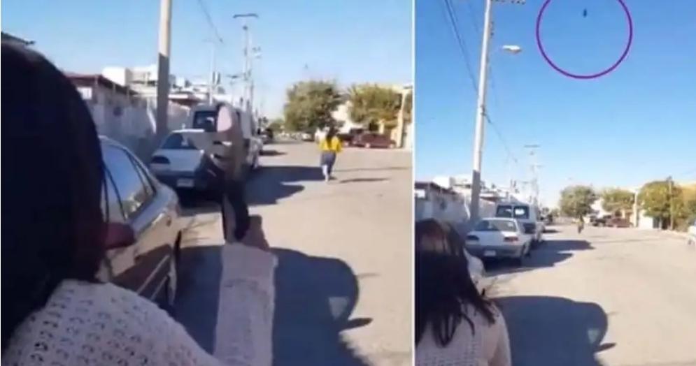 """فيديو يحصد ملايين المشاهدات خلال ساعات.. أم تصيب ابنتها بـ""""الشبشب"""" على بعد مسافة كبيرة"""