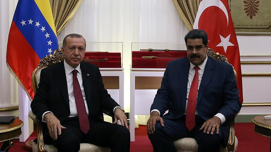 عاجل: الرئاسة التركية: أردوغان يهاتف مادورو ويعلن دعمه له