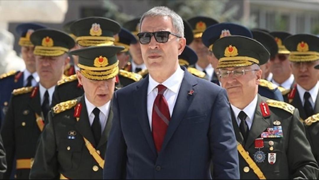 وزير الدفاع التركي يوضح أسباب رئيسية لوجود قوات بلاده في الأراضي السورية