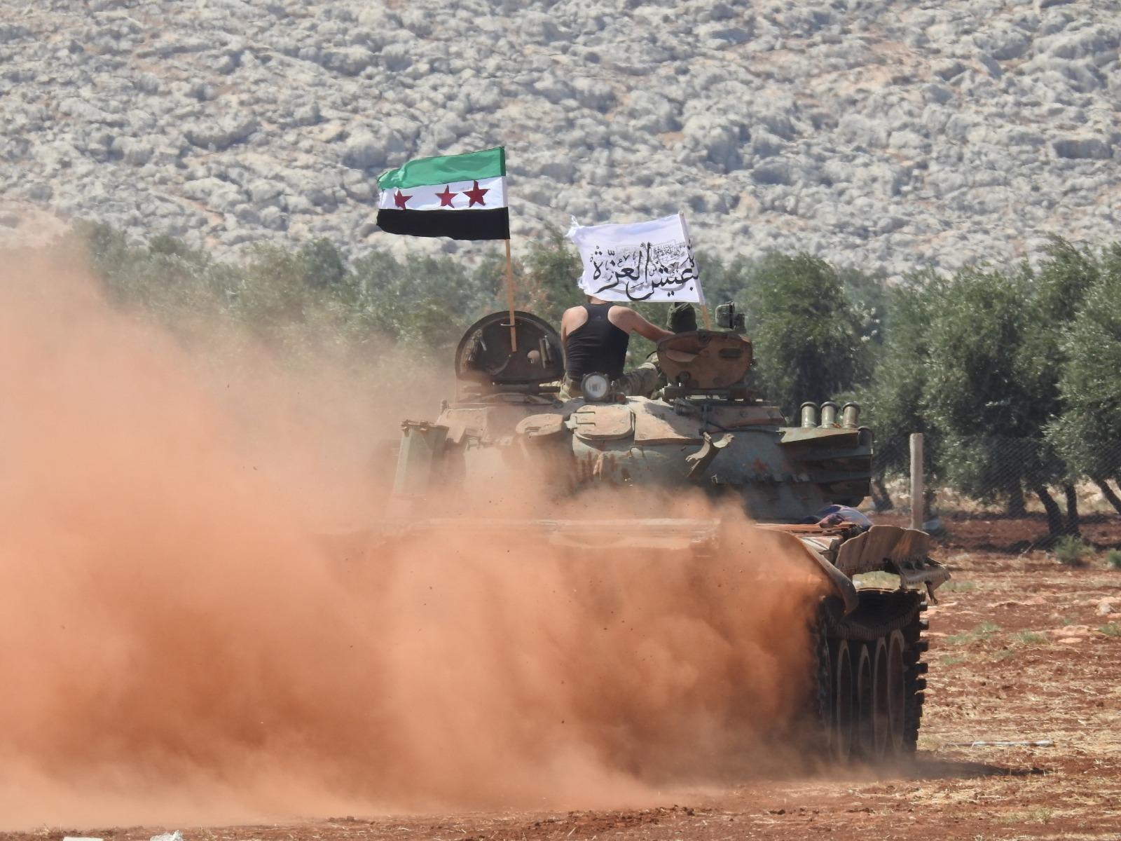 معارك ريف حماة تصل إلى مناطق الأقليات وبلدات للنظام السوري