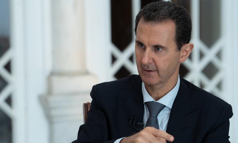 الأسد: ديمستورا أراد مصافحتي لكني رفضت