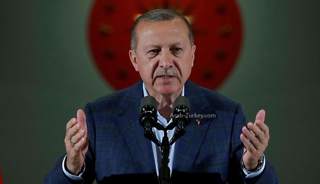 أردوغان: نواجه التهـ.ديدات على حدودنا بدعم ومساعدة شعبنا