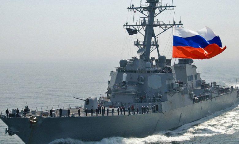 منـ.ـاورات روسية بحرية كبرى وسط الهادئ (فيديو)