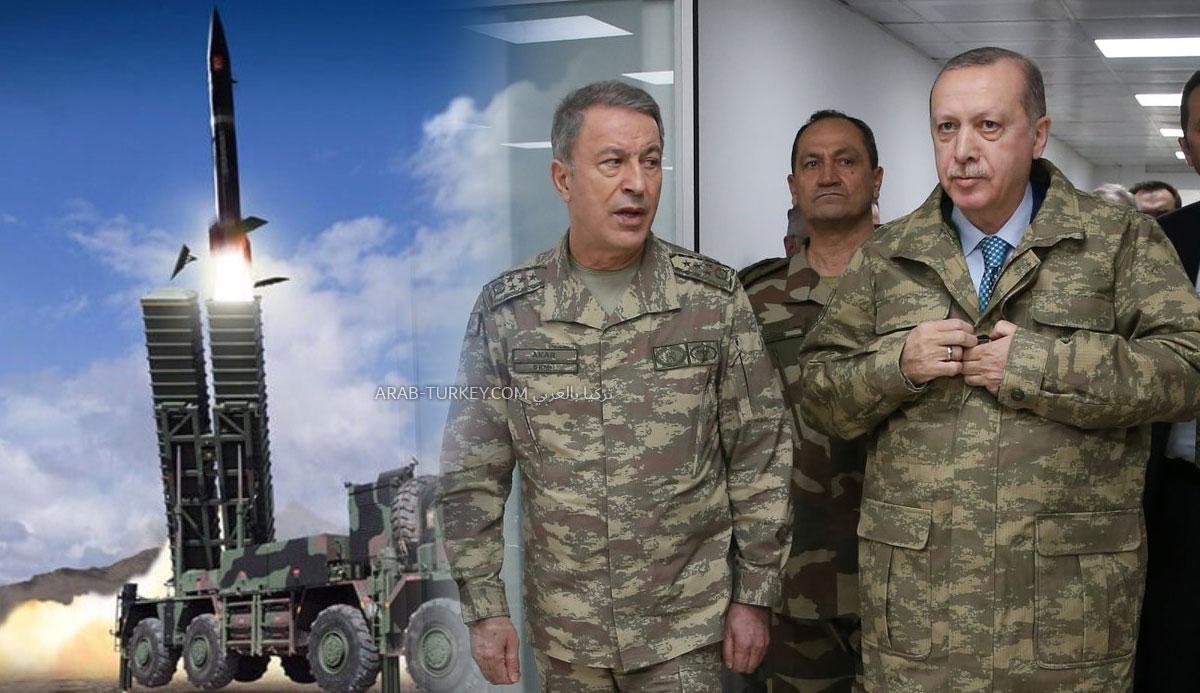 """""""حصن تركيا المنيع"""".. """"بورا"""" أقوى الصواريخ البالستية التركية (فيديو)"""