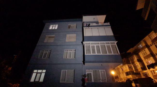 لم تلاحظ عائلتها ذلك.. سـ.ـ قوط طفلة سورية من الطابق الرابع في ولاية كارابوك (فيديو)