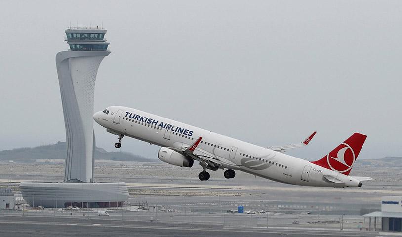 الخطوط التركية تحتل المرتبة الثانية أوروبياً في عدد الرحلات اليومية