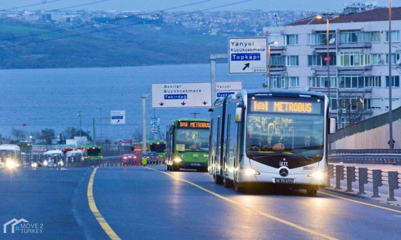 بلدية إسطنبول تعلن عن تراجع معدل استخدام المواصلات العامة بإسطنبول