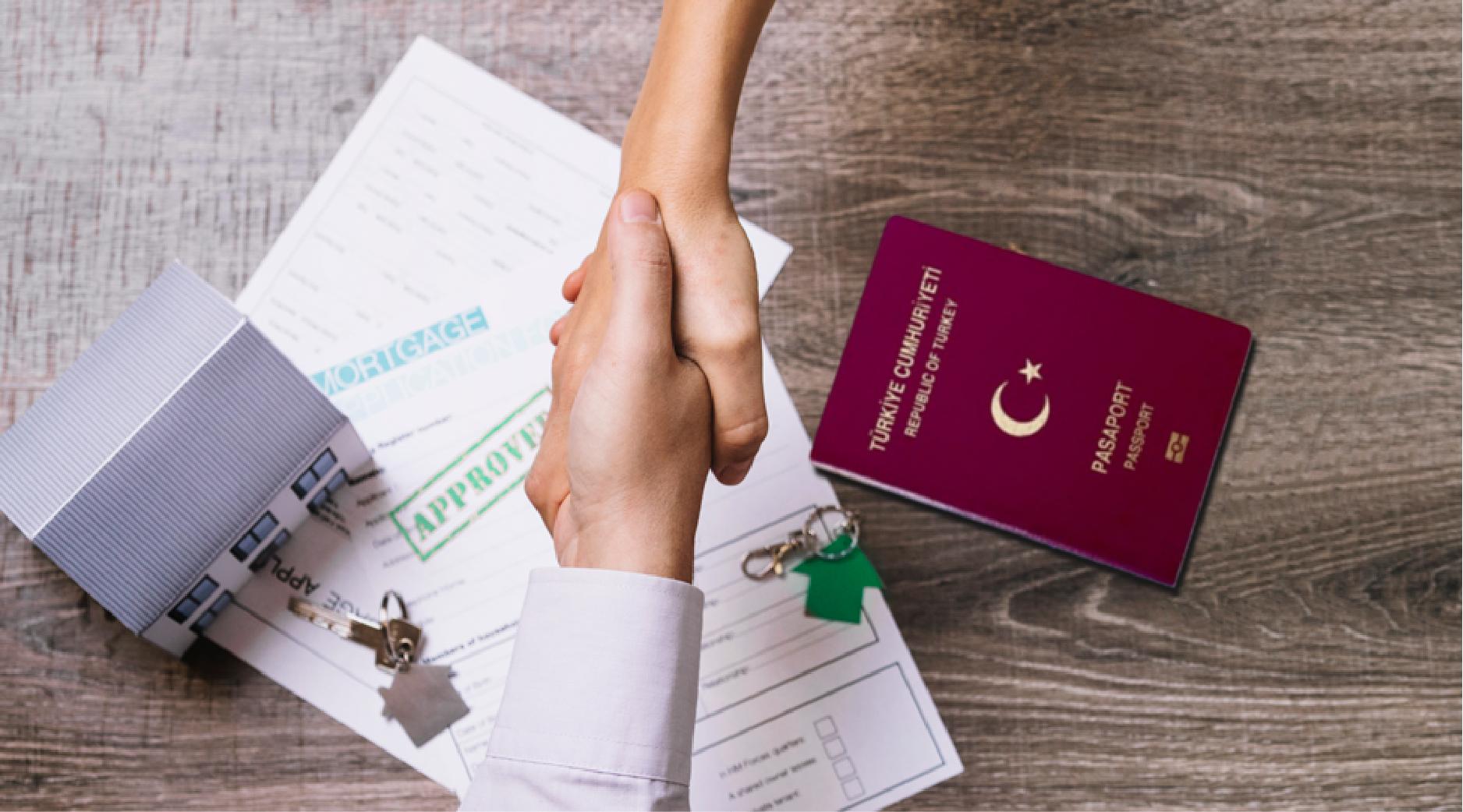خطوات الحصول على الجنسية التركية عبر التملك العقاري